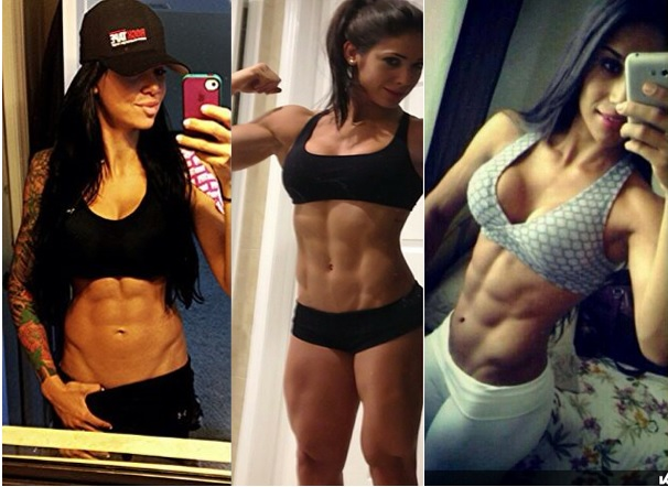 Women abdominal fat
