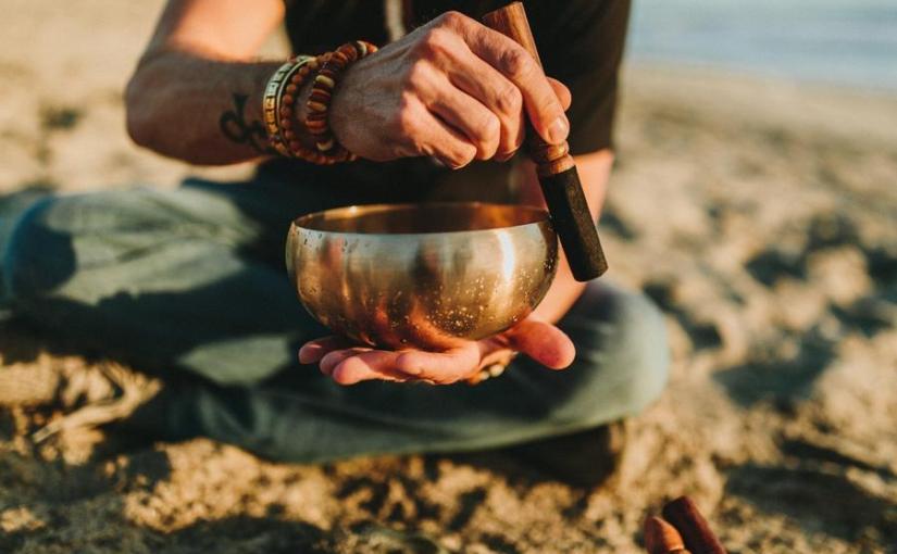 Buddha bowl meditation